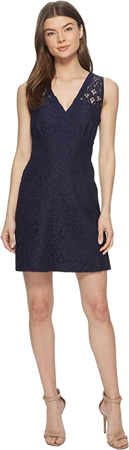 Janelle Lace Fit and Flare Dress