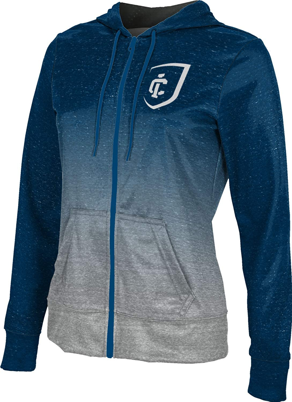 ProSphere Ithaca College Girls' Zipper Hoodie, School Spirit Sweatshirt (Ombre)