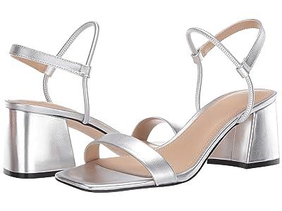 Marc Fisher LTD Nabela (Silver Leather) Women