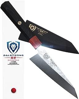 DALSTRONG - Honesuki Knife - Shogun Series S - Single Bevel Knives - Japanese AUS-10V Damascus - 5.5