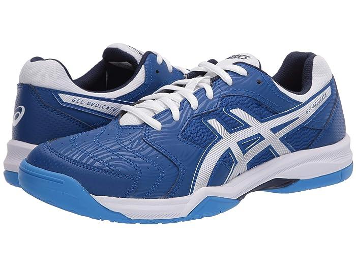 ASICS  GEL-Dedicate 6 ( Blue/White) Mens Tennis Shoes