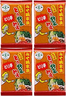 まつや ピリ辛とり野菜みそ 200g ×4袋