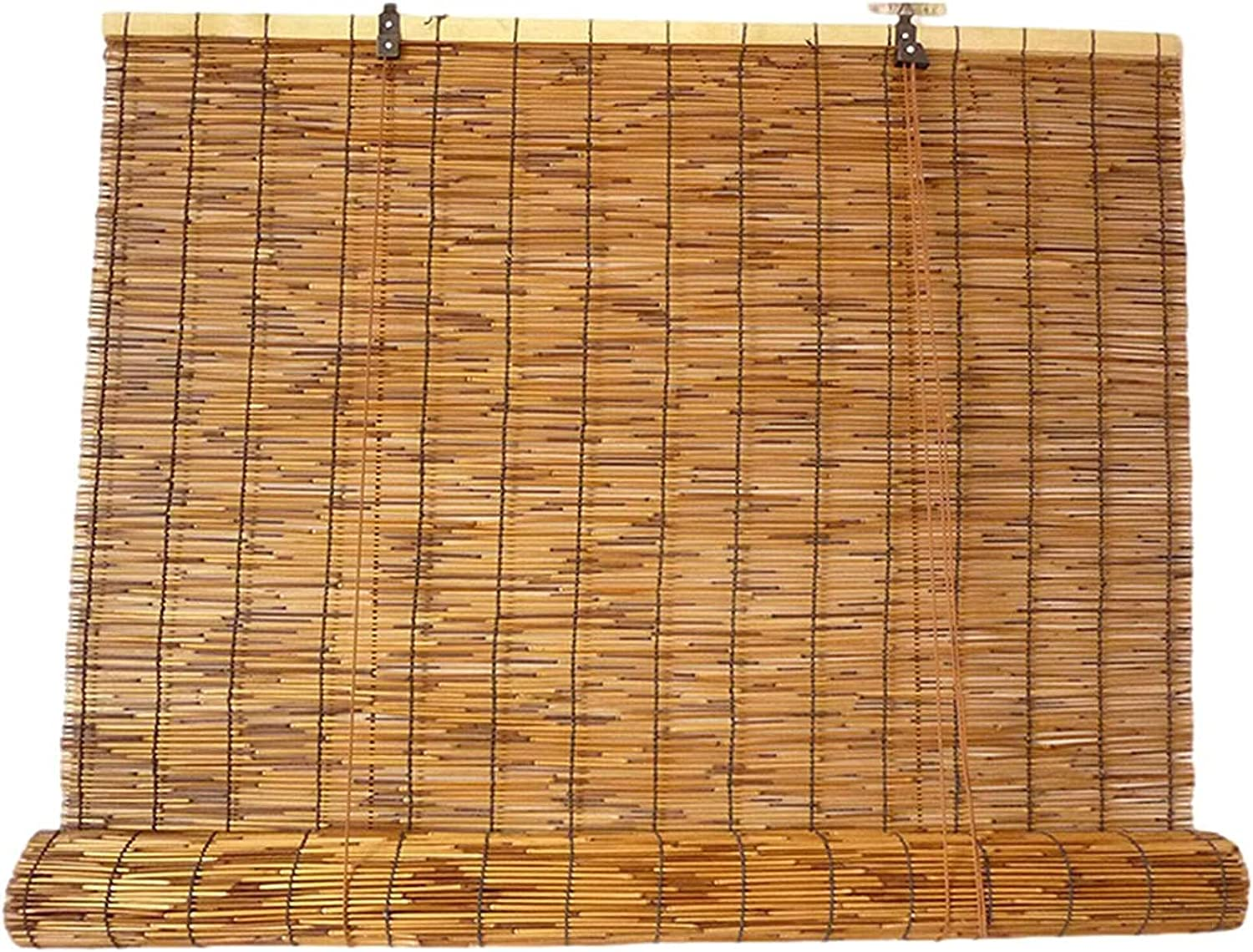 Ranking TOP7 Natural Bamboo Roller Easy-to-use Blinds 43x87 inch Shades Re Reed Up Roll