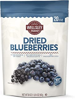 Wellsley Farms Dried Blueberries 20 Oz,, ()