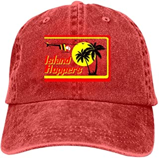 Adult Unisex Funny Holiday Magnum Island Hoppers Fashion Hip Hop Printed Basketball Cap Snapback Hat Cowboy