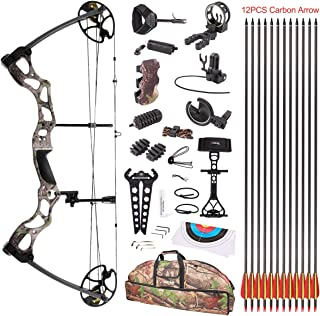 Leader Accessories Compound Bow 50-70lbs 25