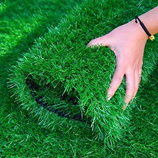 Artificial grass, Fake Grass Synthetic Soft Pet Turf Rubber Backing Realistic for Patio Yard Balcony Decor Customized Sizes (Size : 2x3m)