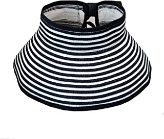 LABANCA 儿童宽边编织吸管卷起沙滩遮阳帽