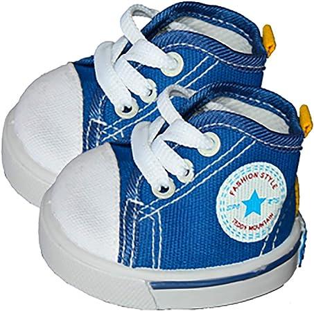 Blu Stile Di Converse Scarpa Teddy Vestiti Di Orso Adatto a 35.6cm ...