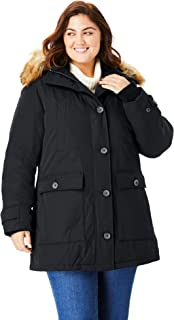 Woman Within Women's Plus Size The Arctic Parka