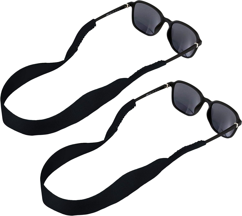 Sunglass Strap for Men & Women - Floating Neoprene Sunglass Retainer & Lanyard - Sunglasses Holder Strap Cord - Water Sports