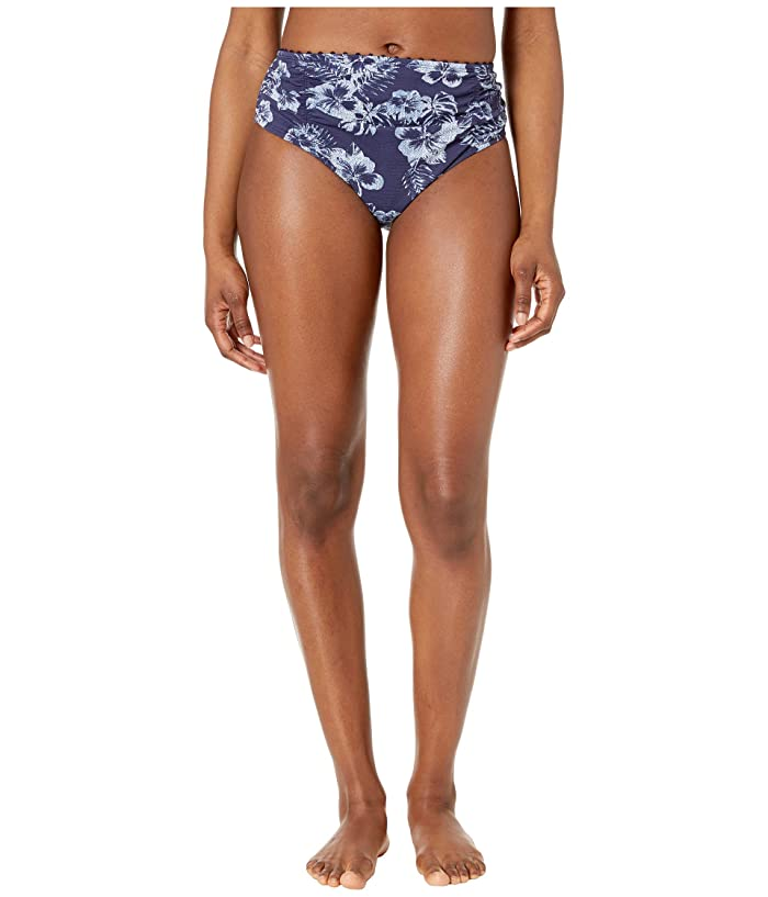 Tommy Bahama Chambray Blossom High-Waisted Bottoms (Mare Navy) Women