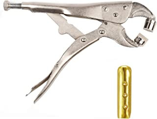DianMan Heavy-Duty Metal Shoelace Aglets Tool for Metal Shoelace Tips Aglets Hoodie Aglets Plier Shoelaces Aglets Installation Tool, Standard