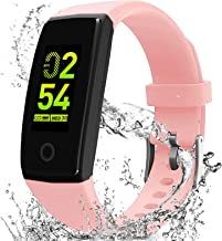 MorePro Fitness Tracker with Blood Pressure Heart Rate Monitor, Waterproof Health Tracker with Sleep Monitor Step Calorie Counter Pedometer Call Reminder, Activity Tracker Watch for Women