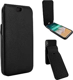 Piel Frama iPhone Xs Max iMagnum Leather Case - Black