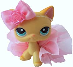 Littlest Pet Shop Accessories LPS Lot Pink Bow Skirt CAT NOT Included