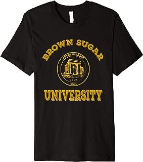 Brown Sugar University T-Shirt Black Love Pride tee