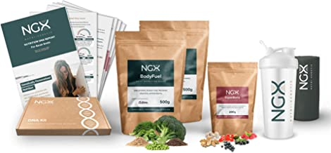 1kg 28 Meal Servings of Genetically Personalised Vegan Meal Replacement Shake DNA Nutrition Test Report Estimated Price : £ 89,99