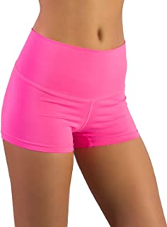 Shorty Short & Scrunchy Combo - High Waisted & Super Comfy – Gym, Dance, Yoga, Aerobics, Cheer, Everyday!