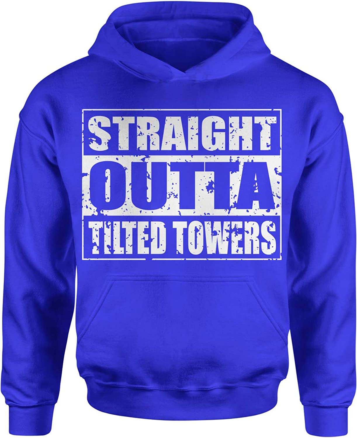 Motivated Culture Straight Outta Tilted Towers Youth-Sized Hoodie