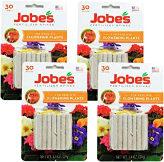 Jobes Fertilizer Spikes for Prolific Flowering Plants Food 120 Count