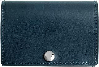 Dom Teporna Italy 小さい財布 本革 イタリアンレザー コンパクトな三つ折り メンズ レディース 全6色