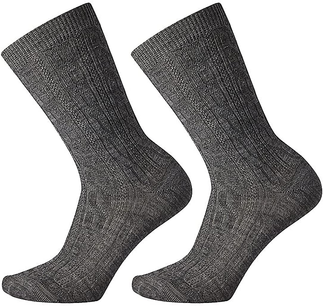 Smartwool Women's Cable 2 Pack Crew Merino Wool Socks
