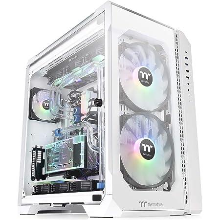 Thermaltake VIEW 51 TG ARGB Snow Edition フルタワーPCケース 強化ガラス スイングドアパネル CA-1Q6-00M6WN-00 CS7811
