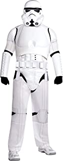 Costumes USA Star Wars Stormtrooper Costume Deluxe for Adults, Plus Size, Includes a Jumpsuit, a Mask, a Belt, and More
