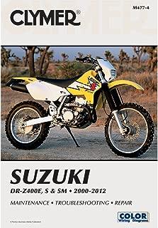 Clymer 00-14 Suzuki DRZ400S Service Manual