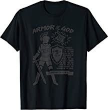 Armor of God for Christians, Soldier Scripture T-Shirt