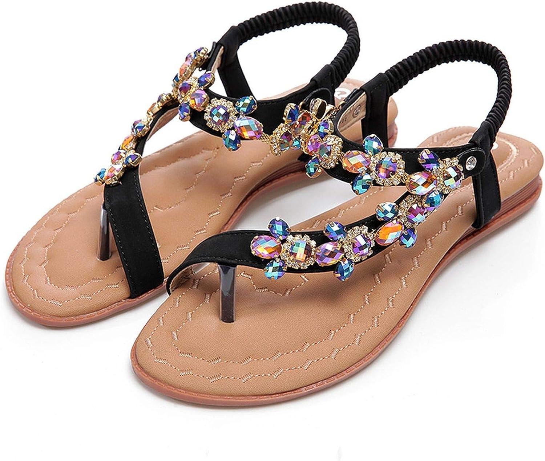 2018 Women Sandals Strange Rhinestones Chains Thong Spot shoes Diamond Flat Sandals