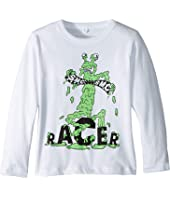 Stella McCartney Kids - Gene Racer Long Sleeve Jersey Tee (Toddler/Little Kids/Big Kids)