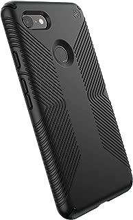 Speck Products Compatible Phone Case for Google Pixel 3 XL, Presidio Grip Case, Black/Black