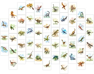 Aesthetic Picture for Wall Collage Kit Dinosaur Posters, Set of 53 4x6'' Dinosaur Decor Posters, Collage Print Kit,Dinosau...