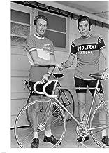 Joop Zoetemelk and Eddy Merckx 1973 Art Print, 20 x 26 inches