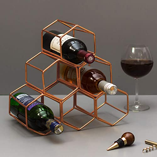 Nestroots Wine Rack for Storing Bottle at Home/bar/Restaurant Storage Stand for Mini bar Counter or Cabinet/Table Diw...