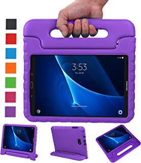 NEWSTYLE Samsung Galaxy Tab A 10.1 Kids Case - Shockproof Light Weight Protection Handle Stand Case for Samsung Galaxy Tab A 10.1 Inch (SM-T580/T585) Tablet 2016 Release (No Pen Version) Purple