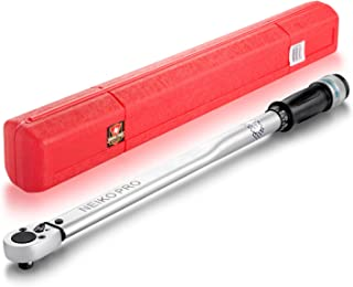 Neiko Pro 03709B 1/2-Inch Drive Adjustable Torque Wrench, 50 to 250-Foot Pound | Chrome Vanadium
