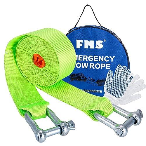 5mtr, Orange Damar Webbing Solutions Ltd 7T Heavy Duty Tow Rope Towing Pull Strap Winch Tree Strop 4x4 Offroad Recovery