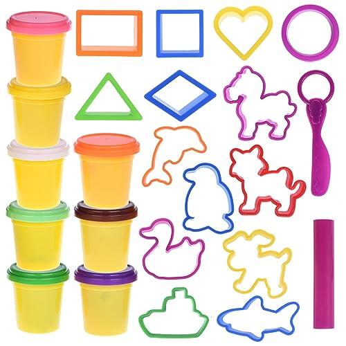 8a9c6ba43 Kids Clay Dough Tools Playset, Animal Sea Creatures Toy Shapes Maker,  Geometry Preschool Educational