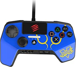 Best New Improved D-Pad - Mad Catz Street Fighter V FightPad PRO for PlayStation4 and PlayStation3 - Blue - PlayStation 4 Review