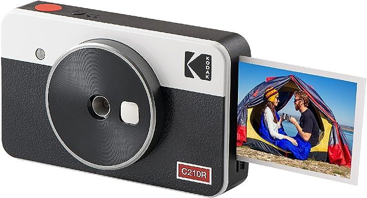 Fotocamera istantanea kodak mini shot 2 retro portatile e stampante fotografica ios e android bluetooth B084MKGMSQ