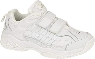 comprar comparacion Mirak Ladies Contender Velcro Padded Leather Sports Trainer White (Small)