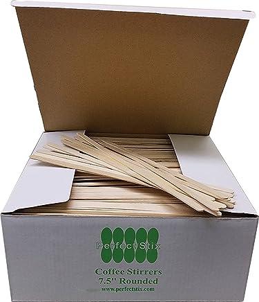 Perfect Stix FS204 Birchwood Coffee Stirrer Stix,  7-1/2 Length