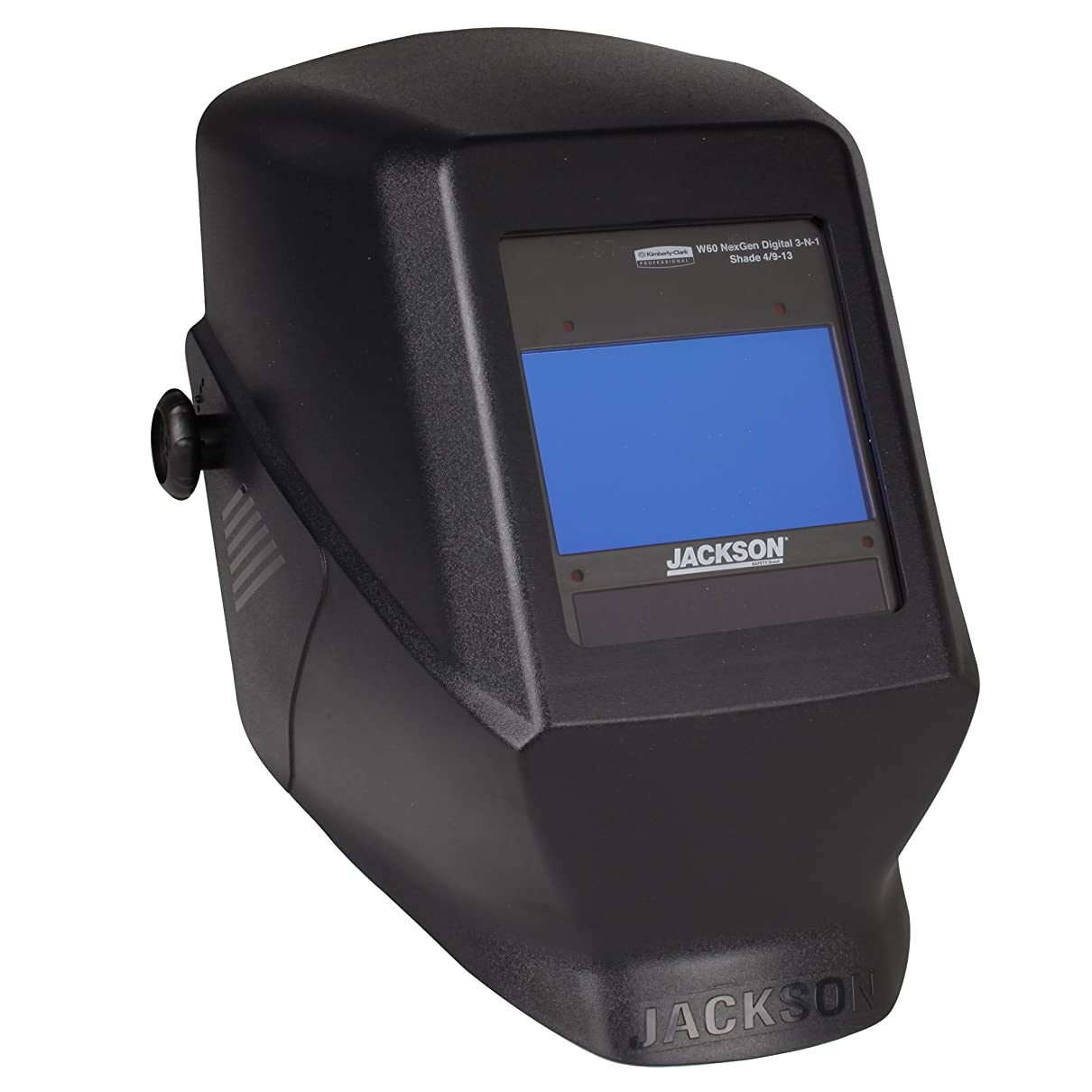 チャールズキージング化粧望みJackson Safety HSL 100 Welding Helmet with NEXGEN 3-in-1 ADF (46148), Digital Auto Darkening, Black, 1 / Case 141[並行輸入]