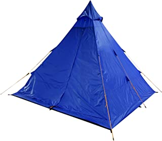 Regatta Unisex's Zee Fest Tipi 4 Man Festival Camping Tält, Oxford blå, en storlek