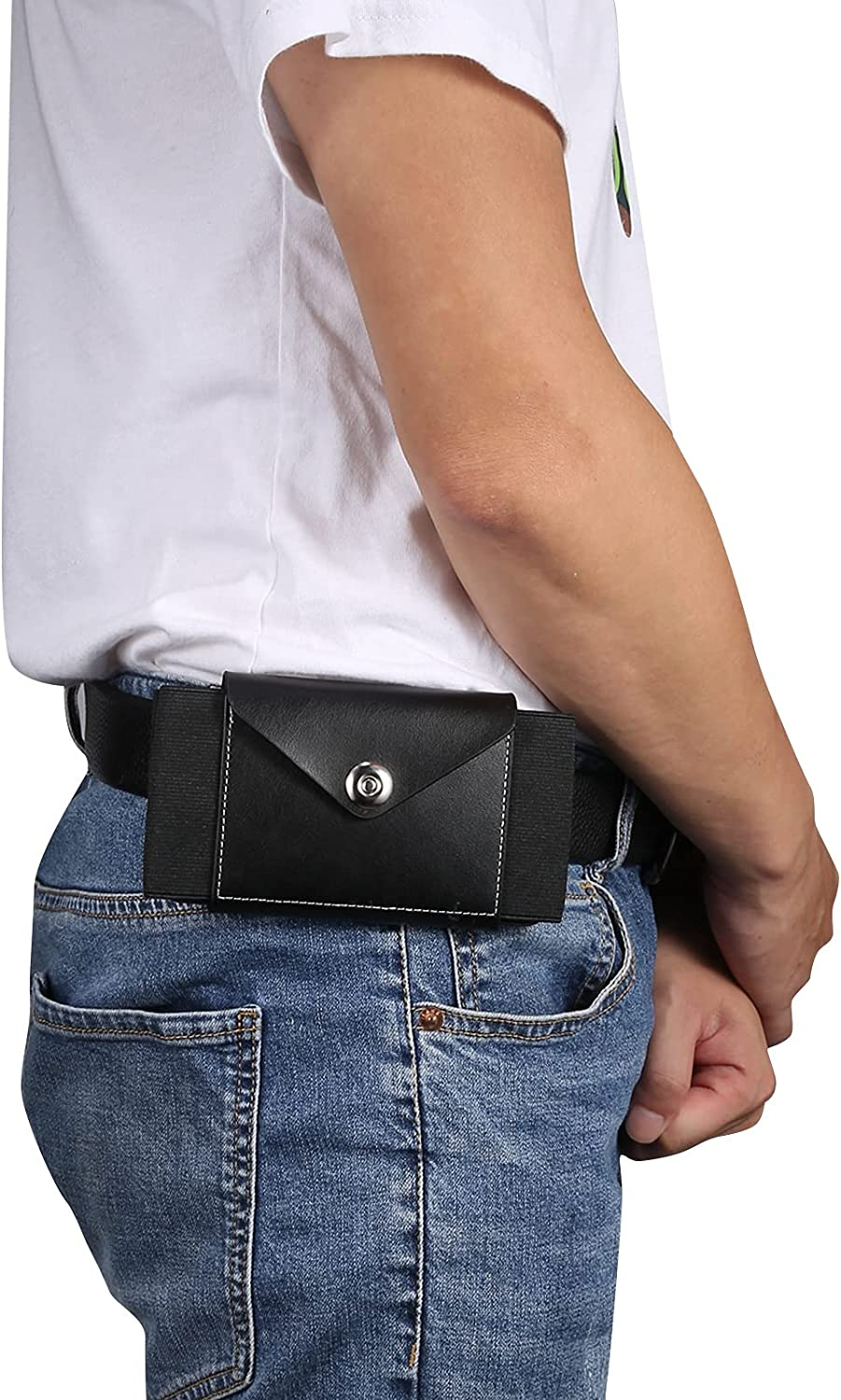 Smartphone Protective Clips Genuine Leather Cell Phone Belt Holster For iPhone 11 Pro Max,11,XS Max,XR,8Plus, Phone Pouch Holster with Clip For Galaxy S21,s20,S20 5G,Note10,S10+,S9+,S8+ Phone Bag