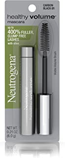 Neutrogena Healthy Volume Mascara, Carbon Black 01, 0.21 Ounce.