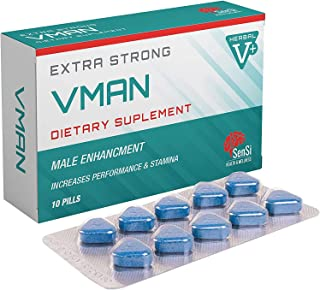 VMAN 300mg | 10 Tablets Immediate Effect, Maximum Duration,